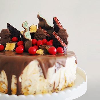 Australia Day Ice Cream Cake