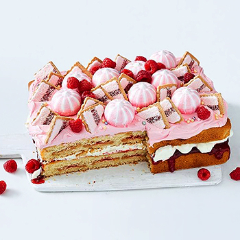 Giant Iced Vovo Cake