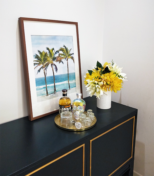 Palm trees wall art